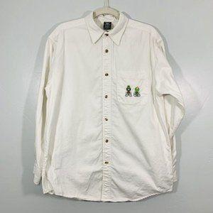Vintage 1997 Warner Brothers White Long Sleeve